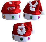 3шт / Много рождественские подарки Рождество шляпы дети шляпа ребенок пункт декали рождественские мультфильм шапки дети шапку