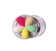 Пуховка для пудры/Бьюти-блендер Others 5 Others 2*6.3cm Размер для путешествий Разноцветный