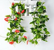 Set of 1 PCS 1 Филиал Полиэстер Калла Букеты на стол Искусственные Цветы Long 90(inch)