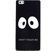For HUAWEI P9 P8 Lite Case Cover Eye Pattern TPU Material Phone Shell for Y5C Y6 Y625 Y635 5X 4X G8