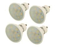 Недорогие -YouOKLight 400 lm GU10 Точечное LED освещение MR16 10 светодиоды SMD 5730 Декоративная Тёплый белый AC 85-265V