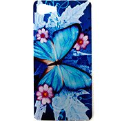 For Wiko Lenny3 Lenny2 Phone Case Cover Blue Butterfly Pattern Painted TPU Material for Wiko U FEEL U FEEL Lite Sunny Jerry
