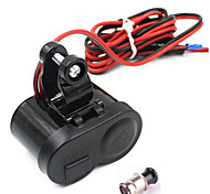 cheap -Motorcycle Waterproof GPS 1.5A USB Port Power Charger Cigarette Lighter Socket