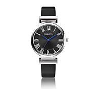 REBIRTH® Unisex Fashion Watch / Wrist watch Quartz Water Resistant/Water Proof Leather Band