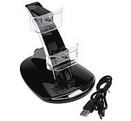 cheap -Dual GT USB Charging Dock Stand for PS3 Controller