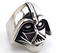 Statement Rings Jewelry Gothic Punk Hip-Hop Rock Titanium Steel Head Jewelry ForParty Special Occasion Birthday