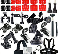 Telescopic Pole Chest Harness Front Mounting Monopod Tripod Foldable Adjustable Waterproof All in One Convenient Floating Dust Proof For