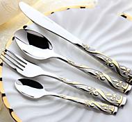 1 Sets(4Pcs) Slap-Up Western Restaurant The Kitchen Utensils Stainless Steel 304 Children knives And Forks