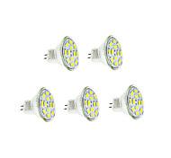 Недорогие -3 Вт. 250-300 lm GU4(MR11) LED лампы накаливания 12 светодиоды SMD 5730 Тёплый белый Холодный белый DC 12V