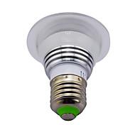 cheap -3W E14 GU10 B22 E26/E27 LED Smart Bulbs MR16 1 High Power LED 130 lm RGB / K Infrared Sensor Dimmable Remote-Controlled Decorative AC