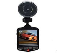 Недорогие -209 720p HD 1280 x 720 1080p 140° Автомобильный видеорегистратор 2,4 дюйма Капюшон Режим парковки Циклическая запись