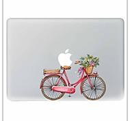 cheap -Pink Bike Decorative Skin Sticker for MacBook Air/Pro/Pro with Retina