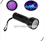 Недорогие -On-Off Светодиодные фонари Светодиодная лампа 100 lm 1 Режим - Водонепроницаемый Ультрафиолетовый свет Детектор подделки Повседневное