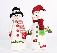 2pc складная горячей продажи рождественские украшения Санта-Клауса снеговик рождественские фигурки