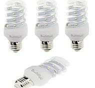 E26/E27 LED Corn Lights T 12 leds SMD 2835 Decorative Warm White Cold White 420lm 3000/6000K AC 220-240V