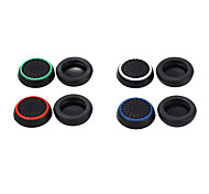 cheap -8pcs/lot Silicone Cap Joystick Grip For PS4 PS3 Xbox 360 Xbox one Controller(include 4 colors,each color 2 PCs)