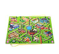 Juguete Educativo Laberintos y Juegos de Lógica Laberinto Juguetes Madera Piezas Regalo