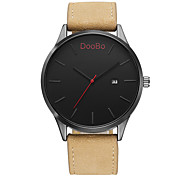 cheap -DOOBO Fashion Casual Mens Watches Top Brand Luxury Leather Business Quartz-Watch Men Wristwatch Relogio Masculino