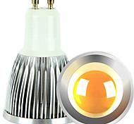 cheap -GU10 LED Spotlight 1 COB 600lm Warm White Cold White 2700-3000K/6000-6500K Dimmable AC 220-240 AC 110-130V