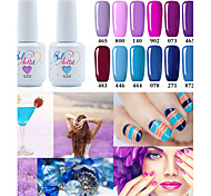 USA ONLY Fashing Purple color Blue color UV&LED Lamp Gel Polish Color Gel Nail Gel Nail Polish