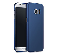 cheap -For Samsung Galaxy S7 Edge Case Matte Ultra-thin PC Case Back Cover Solid Color Hard Samsung S8 S7 S6 S6 Edge Plus
