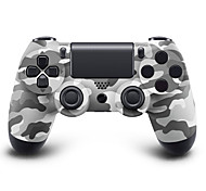 doble choque controlador Bluetooth inalámbrico para PS4 (colores surtidos)