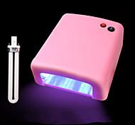 36w свет терапия машина четырех 9w светильник гель лак для ногтей фототерапии клей обязательным УФ лампы маникюра