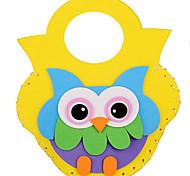 Набор для творчества Обучающая игрушка Стикеры Игрушки Квадратный Мультфильмы Новинки Своими руками Мальчики Девочки Куски