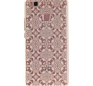 Недорогие -Для huawei p9 lite p8 lite tpu материал imd процесс кружево цветы шаблон телефон корпус для y6ii наслаждаться 5 честь 8