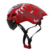 Недорогие -Мотоциклетный шлем CE Велоспорт 6 Вентиляционные клапаны Регулируется Экстремальный вид спорта One Piece Аэрошлем Шлем с Googles Горные