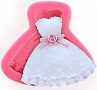 cheap -1Pcs  A Skirt Mold To Make Chocolate Or  Cake  8.5Cm*7Cm*1.7Cm