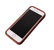 подлинный прочный корпус древесины для Iphone 6с 6 плюс натурального дерева ручной работы