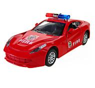 Недорогие -Игрушечные машинки Модель авто Обучающая игрушка Полицейская машинка Машина скорой помощи Пожарная машина Игрушки Оригинальные