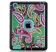 Pattern Colour Printing Water/Dirt/Shock Proof Waterproof Three in One IMD Cover Case for iPad2 iPad3 iPad4