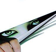 Недорогие -ziqiao смешной автомобиль стикер 3d глаз выглядывал монстр вуайерист автомобиля капюшоны заднего стекла декали