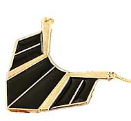 Недорогие -Жен. Ожерелья с подвесками  -  Конфеты Цветовые блоки Мода Геометрической формы Черный Красный Синий Ожерелье Назначение Для вечеринок