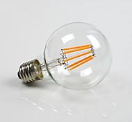 Недорогие -E26/E27 Круглые LED лампы G80 8 COB 800 lm Тёплый белый К Диммируемая AC 220-240 AC 110-130 V