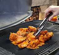 BBQ Grill Mat for Barbecue Grill Sheet Cooking and Baking and Microwave Oven Use Black Promotion