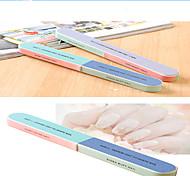 пилочка для ногтей шлифовальная статья 6 поверхность комплект полировки файл маникюра распечатаны двухсторонние начинающих шлифовальные