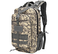 20-30 L Backpack Camping & Hiking Climbing Traveling Wearable Yellow Dark Green