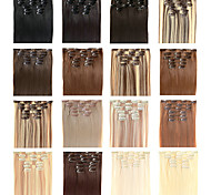 """22"""" inch Clip in Futura Hair Extensions - Seven Piece Full Head set - 100 GRAMS of hair per pack"""