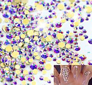 1pack Manucure Dé oration strass Perles Maquillage cosmétique Nail Art Design