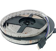 KWB Waterproof 5M-3528-300-RGB with 44Key LED Strip Lights Kit