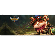 cheap -Professional Custom Computer Game League of Legends Teemo  Gaming Mouse Pad Used for  Deskop And Laptop Computer 30x80x0.2cm