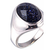 Men's Fashion 316L Titanium Steel Personality Vintage Gem Jewel Galaxy Rings 7 8 9 10 11 Casual/Daily 1pc