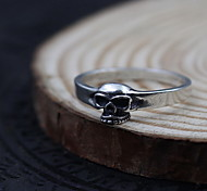 Ring Jewelry Sterling Silver Skull / Skeleton Simple Style Silver Jewelry Daily Casual 1pc