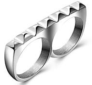 Кольца Для вечеринок Повседневные Спорт Бижутерия Титановая сталь Мужчины Массивные кольца Кольцо 1шт,7 8 9 Какна фотографии