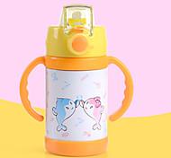 чашка Переносной Подарок С защитой от протекания Для Повседневные Путешествия Спорт Походы Кофе Чайный Подарок Нержавеющая сталь