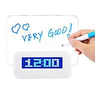 baratos -1 Pça. Luzes de Presença Luz de Natal Luz de Leitura LED Smart Regulável Impermeável Relógios de Pulso Acrílico ABS