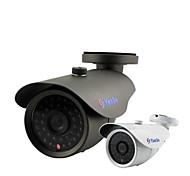 yanse® 1000tvl 8mm aluminium métal caméra d / n cctv ir 36 a conduit la sécurité f278cf filaire étanche